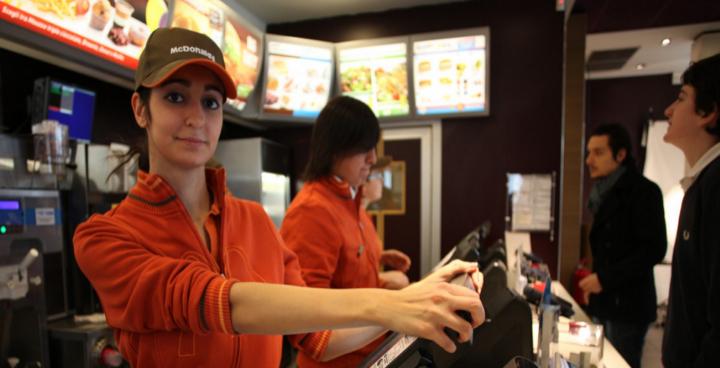 McDonalds lavorare