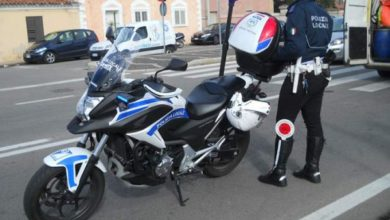 polizia locale moto
