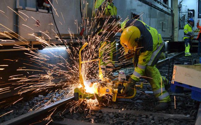 lavoro, pomezia, settore ferroviario